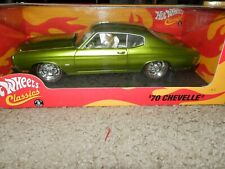 2005 Hotwheels 1970 Chevelle SS Classics - Limited Edition - Rare Green 1/18th