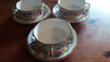 Multi Saucer Royal Worcester Porcelain & China