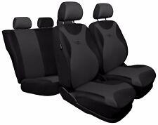 Conjunto completo de asiento de coche cubre ajuste Nissan Pathfinder-Negro/Gris