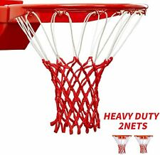 Heavy Duty Basketball Net Standard Rims Indoor Outdoor All Weather Anti Whip