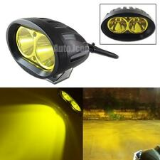 1p High Power Golden Yellow 2-CREE Spot Work Light For Cars Motorcycle Fog DRL