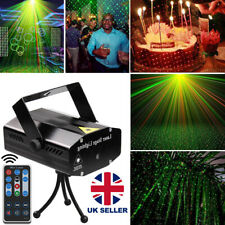 More details for r&b dj disco led light mini laser projector stage lighting xmas show party