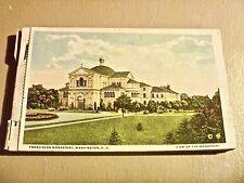 Washington DC Franciscan Monastery 20 postcards booklet vintage
