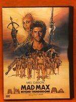 Mad Max Beyond Thunderdome DVD Mel Gibson, Tina Turner