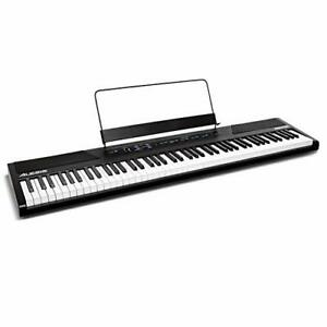 Alesis Recital – 88 Key Digital Electric Piano /Keyboard with Semi Weighted