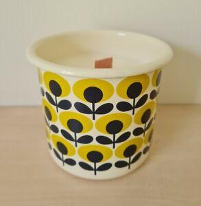 Orla Kiely Enamel Pot Soy Candle Fragrance Moroccan Jasmine
