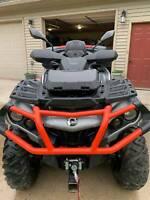 2X UTV ATV Rear View Side Mirrors 10mm For Polaris Sportsman Touring 4-wheeler