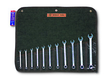 Wright Tool WRIGHTGRIP® 2.0 12 Point Combination Wrench Set 11 Piece Metric 750