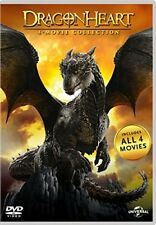 DRAGONHEART 4 Movie Collection BOX 4 DVD in Inglese NEW .cp