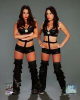 BELLA TWINS Brie & Nikki WWE LEATHER Wrestling LICENSED poster print 8x10 photo