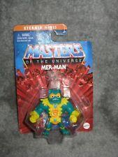 He-Man Masters of the Universe ~ Eternia Minis ~ MER-MAN MERMAN ~ MOSC MOTU
