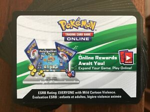 Pokemon  TCG   Online codes 36X  EVOLUTIONS  (EMAILED)