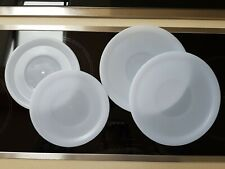 Tefal Ingenio Plastic Pan Lids, Brand New, 2x 18.5 cm and 2x 22.5 cm