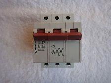 Moeller Circuit Breaker 3 Pole 16A Azr16-3