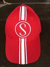 Stingray Hat Schwinn Apple Krate  Red w/white Baseball cap with metal tag