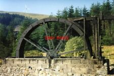 PHOTO  1998 PONTERWYD LLYWERNOG SILVER LEAD MINE MUSEUM HIGH BREASTSHOT WATERWHE