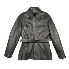 New ListingFlying Bikes Oakwood Ny Club Women's Black Leather Jacket Thinsulate Size M