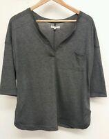 Next Grey Top Size 12 <J3124