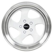 17x9.5 ARC AR5 5x114.3 +20 White Rims Fits Mazda Rx7 Rx8 240Sx 300Zx Supra