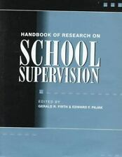 Handbook of Research on School Supervision (Macmillan research on-ExLibrary