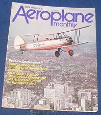 AEROPLANE MONTHLY MARCH 1979 - SUPERMARINE SCIMITAR/DE HAVILAND DROVER