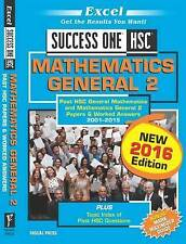 Mathematics General 2 2016 Edition by Pascal Press (Paperback, 2016)