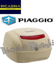 9411 - BAULETTO POSTERIORE 32 LT BLU AURORA 422 VESPA 50 125 150 LX