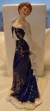 "Franklin Mint Fine Porcelain Figurine of Diana Vreeland ""Elegance de Paris"",1988"