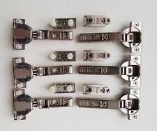 6St. NEU BLUM Clip Blumotion Scharnier Topfband 110° Soft Closing inkl M-Platte