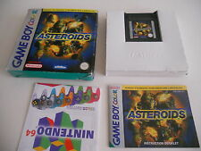 ASTEROIDS  GAMEBOY COLOR / ADVANCE / SP GBC GAME