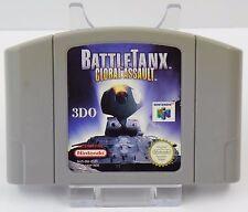 Nintendo 64 - N64 Spiel - Battle Tanx Global Assault + Turok 2 Seeds of Evil