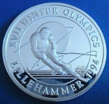 More details for turks & caicos: 1993 20 crowns winter olympics b 1 troy oz silver proof cap cert