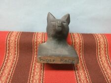 Ncsu Wolf Pack Cast Iron Paperweight from Nc State University in Raleigh, Nc