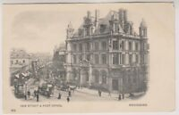 Warks/W Midlands postcard - New Street & Post Office, Birmingham (A92)