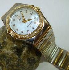 Relojes de pulsera OMEGA de acero inoxidable para mujer