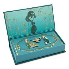 DISNEY STORE D23 ART OF JASMINE ALADDIN LIMITED EDITION BOXED PIN SET SOLD OUT!