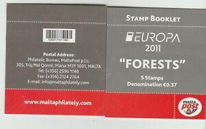 S36588 Malta Europa Cept MNH 2011 Booklet