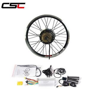 36V 500W Electric Bicycle Motor Kit 20 24 26 inch Motor Conversion Hub Kit