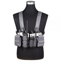 Tactique Chest D3CR Rig Wolf Gris By Emersongear