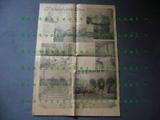 510KM1 USA Newspaper Page 1918: A Bachelor's Wonder Palace, Villa Vizcaya,
