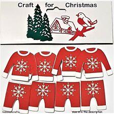 Manualidades para Navidad 8 Novedad Adhesivo Madera Copo de Nieve