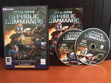 STAR WARS REPUBLIC COMMANDO SOTTOTITOLI ITA PC COMPLETO USATO 2 CD