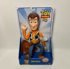 "Disney Pixar Toy Story 4 Sheriff Woody 16"" Action Figure Soft & Huggable New!!"