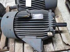 Toshiba AC Motor B0306FLF1U2H 30HP 1175RPM 230/460V 75.8/37.9A 60Hz  Used