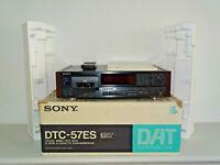 Sony DTC-57ES High-End DAT-Recorder Schwarz inkl. FB&BDA, OVP&NEU, 2J. Garantie