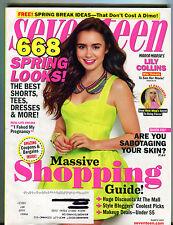 Seventeen Magazine March 2012 Lily Collins EX 070616jhe