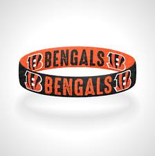 Reversible Cincinnati Bengals Bracelet Wristband Who Dey?