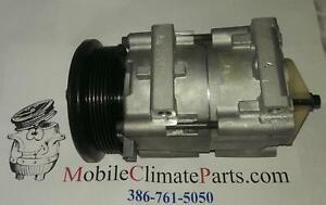 FITS 92-02 FORD ESCORT MERCURY TRACER 1.9L 2.0L REMAN 57130 A/C Compressor