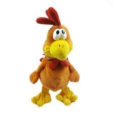 Animated Chicken Plush Flapping Wings Clucking Animatronic Farm Barnyard Crazy