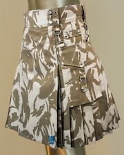 British Military Utility Camo Kilt by Scottish Kilt | Made to measure